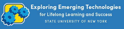 EmTechMOOC SUNY logo with white text