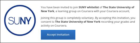 SUNY Invitation