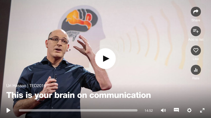 Uri Hasson - TED Talk